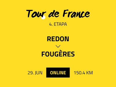4. etapa Tour de