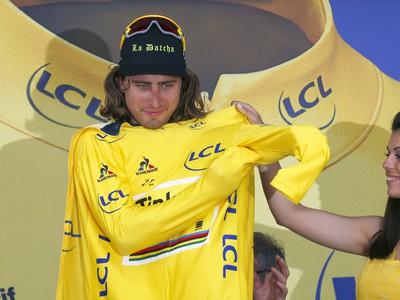 Peter Sagan v žltom
