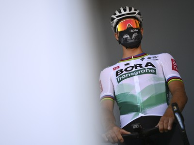 Slovenský cyklista Peter