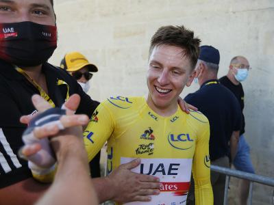 Tadej Pogačar po 20. etape Tour de France