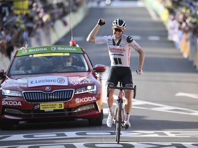 Soren Kragh Andersen sa stal víťazom 19. etapy TdF