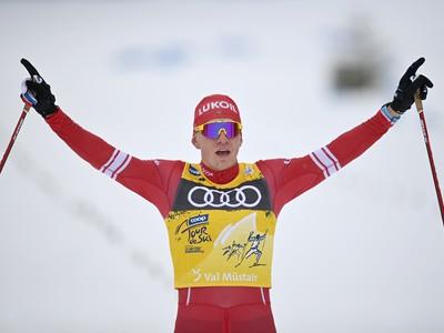 Ruský bežec na lyžiach