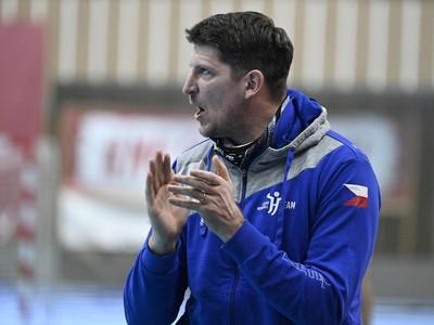 Tréner českej reprezentácie Daniel Kubeš