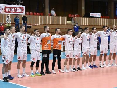 lovenská reprezentácia pred prípravným zápasom s Českom
