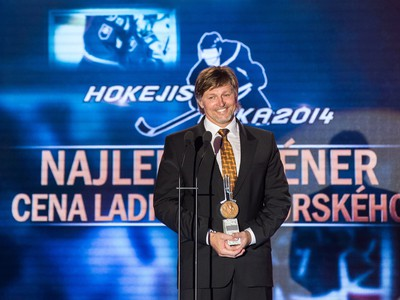 Tréner HC Košice Anton Tomko