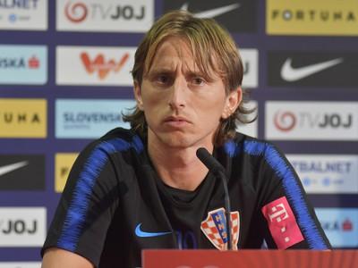 Chorvátsky kapitán Luka Modrič