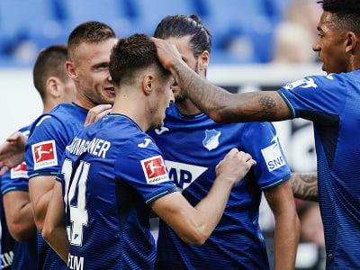 Hoffenheim pripravil vlkom z Wolfsburgu prvú prehru v sezóne