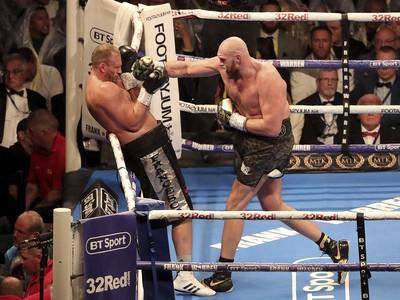 Tyson Fury a Francesco