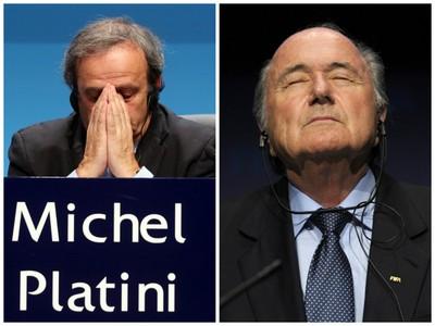 Michel Platini a Sepp