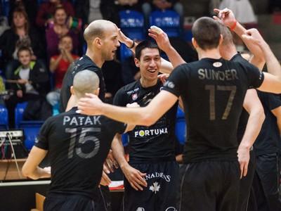 Hráči Volley Team počas