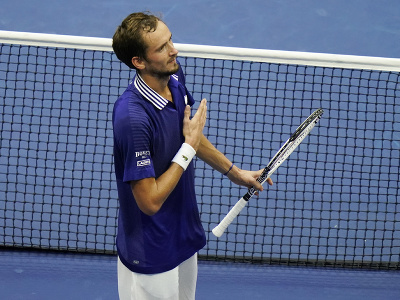 Ruský tenista Daniil Medvedev získal prvý grandslamový titul