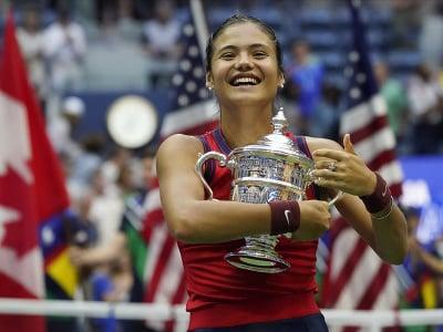 Britská tenistka Emma Raducanuová