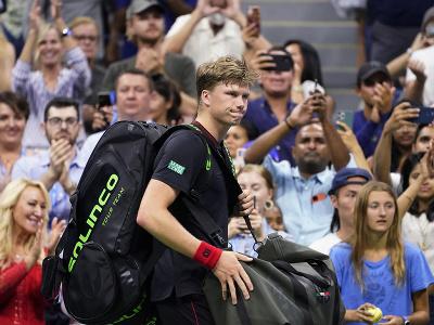 Americký tenista Jenson Brooksby