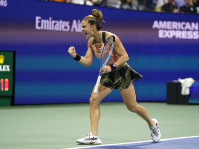 Grécka tenistka Maria Sakkariová