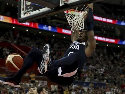 Americký basketbalista Donovan Mitchell