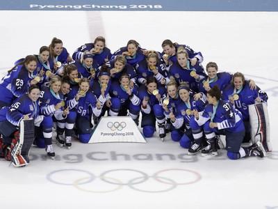 Olympijské víťazky - hokejistky