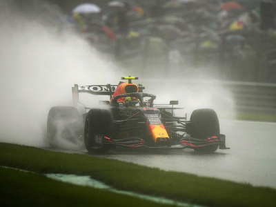 Max Verstappen počas kvalifikácie