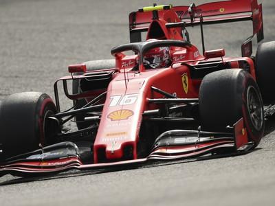 Charles Leclerc zvíťazil na okruhu Spa-Francorchamps