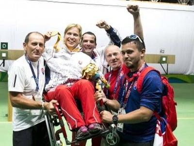 Veronika Vadovičová získala zlatú medailu