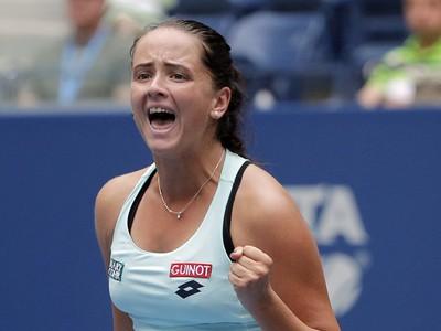 Radosť slovenskej tenistky po