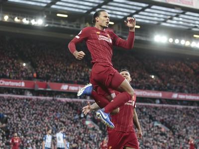 Na snímke hráč Liverpoolu