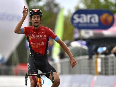 Švajčiarsky cyklista Gino Mäder