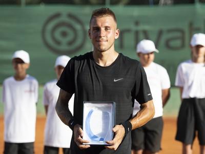 Alex Molčan s víťaznou