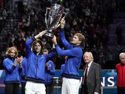 Výber Európy opäť ovládol Laver Cup