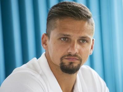 Na snímke tréner VK Pirane Brusno Lukáš Šmída