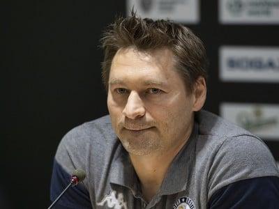 Tréner Slovana Vladimír Országh