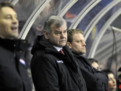 Tréner Slovenska Vladimír Vůjtek