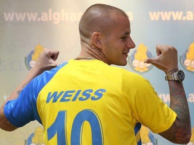 Vladimír Weiss v drese