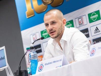 Vladimír Weiss mladší počas