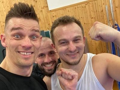 Vlado Moravčík, Milan Paleš a Pavol Kuruc