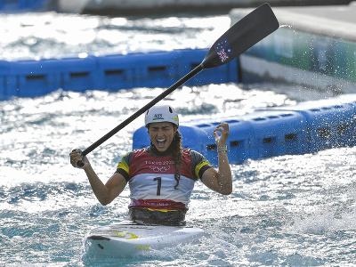 Austrálska vodná slalomárka Jessica