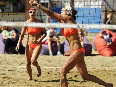Zľava: Dominika Nestarcová a Natália Dubovcová