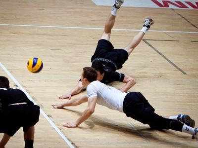 Momentka zo zápasu Volley