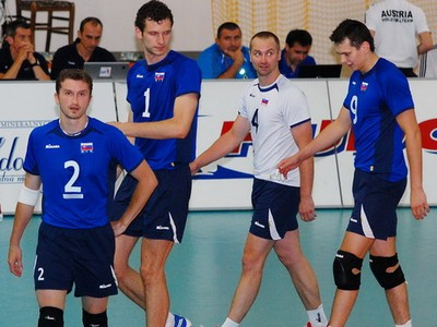 Slovenskí volejbalisti