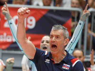 Tréner Marco Fenoglio a