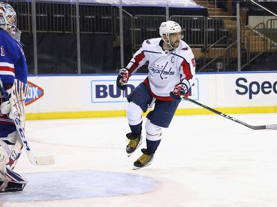 Alexander Ovečkin odohral proti Rangers iba 39 sekúnd