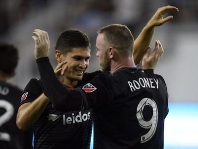 Wayne Rooney strelil svoj prvý gól v MLS