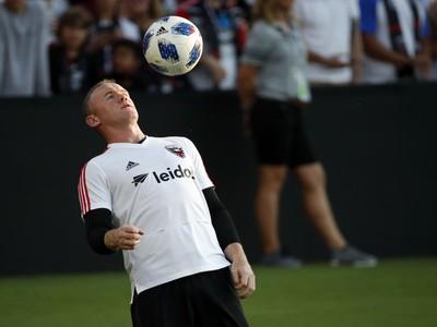 Wayne Rooney pred duelom