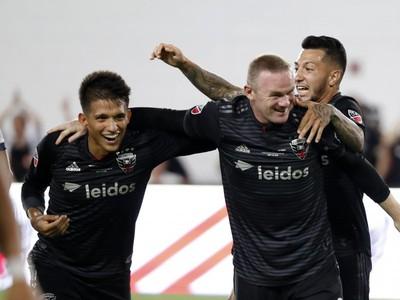 Wayne Rooney sa raduje
