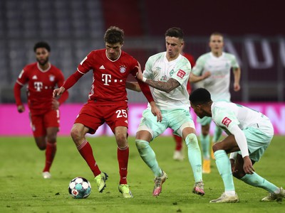 Thomas Muller a Marco Friedl