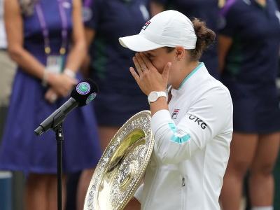 Ashleigh Bartyová získala svoj prvý wimbledonský titul