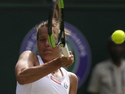 Barbora Strýcová v semifinále
