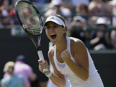 Mladý fenomén Wimbledonu: Dievča
