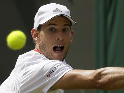 Dominic Thiem v prvom kole Wimbledonu