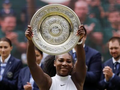 Serena Wiliams triumfovala na