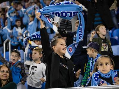 Mladí fanúšikovia Slovana sa